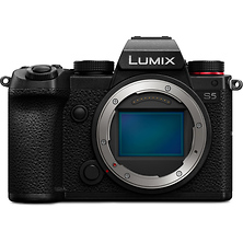 Lumix DC-S5 Mirrorless Digital Camera Body (Black) Image 0