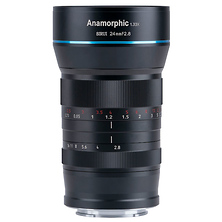 24mm f/2.8 Anamorphic 1.33x Lens for Fuji X Image 0
