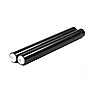 6in. Aluminum Rods (Anodized Black)