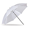 45in. Optical White Satin Umbrella