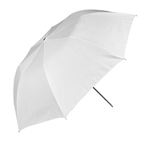Westcott Optical White Satin Umbrella - 86in.