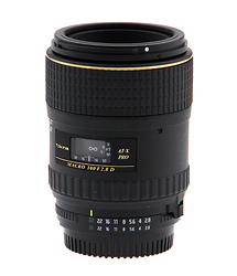 Tokina AF 100mm f/2.8 AT-X M100 Pro D Macro Lens - Nikon Mount