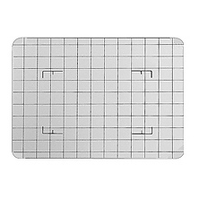 4x5 Groundglass Focusing Screen - Acid Etched Grid Lines Image 0