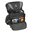 5533 Adventure Messenger 3 Shoulder Bag (Black/Gray)
