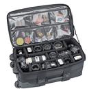 694 Big-Wheels Rolling Strongbox Camera Case LP4, Black