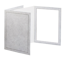 Tap Packaging Solutions 8 x 10 Picture Folder Frame - Gray (10 Pack)