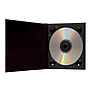 CD Holder with 2x2 Front Cover Photo Window, Purple Thumbnail 1