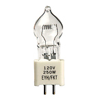 EYH Lamp, 250 watts/120 volts