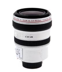 Canon 3.4-10.2MM F/1.8-2.2 3X Zoom XL Mount Video Lens - (Used)