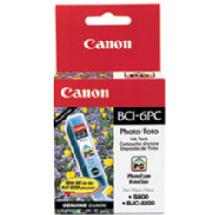 Canon BCI-6PC Photo Cyan Ink Cartridge for Canon i9900, iP8500, and iP6000D Printers