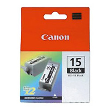 BCI-15B Black Ink Cartridge for i70, i80 & iP90 Printers Image 0