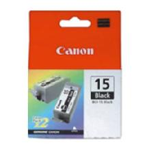 Canon BCI-15B Black Ink Cartridge for i70, i80 & iP90 Printers