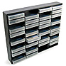 Mini DV 48 Storage Rack - Black