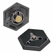 030-14 Hexagonal Quick Release Plate with 1/4