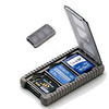 Gepe | Card Safe Mini, Onyx, for Three Mini Memory Cards | 3853