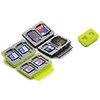 Gepe | Card Safe Extreme, Neon, for four larger memory cards | 3862E