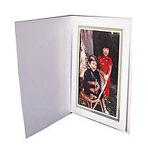 Dot Line Corp. White Photo Folder 8x10