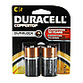 C Cell Coppertop Alkaline Batteries (2 Pack)