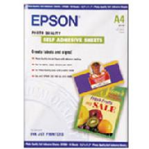 Epson Self Adhesive Matte Ink Jet Sheets, 8.3