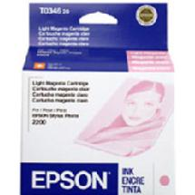 Epson Light Magenta Ink Cartridge for 2200 Ink Jet Printer