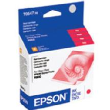 Epson R800 UltraChrome High-Gloss Ink Cartridge, Red