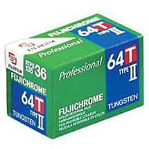 Fujifilm RTP II 64T Tungsten Color Slide Film, 35mm, 36 Exposures, Single Roll