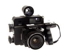 Konica Minolta Rapid Omega 100 Medium Format 6X7 Press Rangefinder Camera + 60MM F/5.6 Lens (Used)