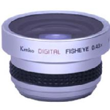 Kenko SGW-043 0.43X Wide-Angle Fisheye Digital-Video Lens (37mm Mount Thread)