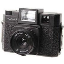 Holga 120FN Medium Format Fixed Focus Camera with Lens and Built-in flash