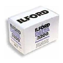 Ilford Delta 3200 B&W Negative Film - 120 (USA) per roll