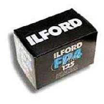 Ilford FP4 125 Plus B&W Negative Film - 120 (USA) per roll