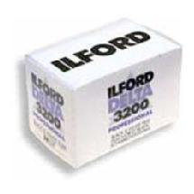 Ilford Delta 3200 B&W Negative Film, 35mm 36 Exposures, Single Roll