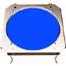 Lowel Blue Dichroic Glass Filter with Holder for the Omni Light System