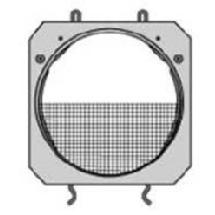 Lowel Scrim - Half Single for DP Light, Fits Barndoor Frame - 5-1/4