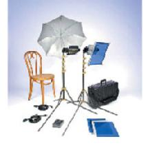 Lowel TO GO 95 Tungsten Flood 2 Light Kit  with LB-30 Soft Case