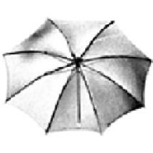 Lowel Umbrella - Tota-Brella - Silver - 27