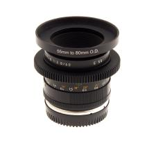 Leica 60mm f/2.8 Macro Elmarit R Lens - Duclos Converted To Canon EF Mount