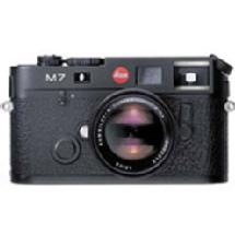 Leica M7 TTL .72 35mm Rangefinder MF Camera Body - Black