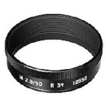Leica Lens Hood for 50mm / f2.8 Black Lens (11831)