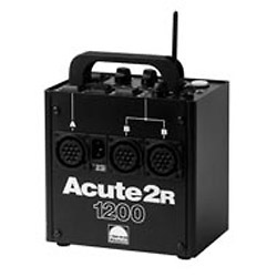 Acute 2R 1200 Watt/Second Power Supply with Built-In Pocket Wizard Receiver Image 0