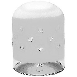 Frosted Protection Glass Dome for Pro 7 Heads Image 0