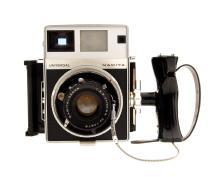 Mamiya Universal Press Rangefinder Camera With 100mm F/3.5 Lens & Polaroid Back (Used)