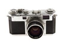 Nikon S2 Rangefinder 35mm Camera Body & Nikkor S-C 50mm f1.4 Lens (Used)