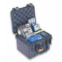 Pelican 1300 Mini-D Watertight Hard Case - Silver