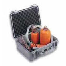 Pelican 1450 Medium Watertight Hard Case - Silver