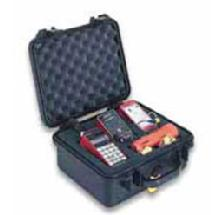 Pelican 1400 Medium Watertight Hard Case - Silver