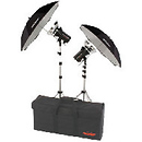 StudioMax III AC-DC Wireless 2-Head Monolight Studio Kit