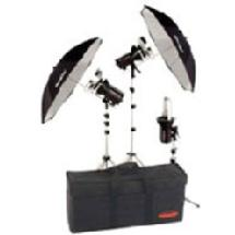 Photogenic StudioMax III Master Studio 3-Head Monolight Kit