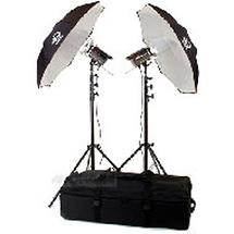 Photogenic Solair 1000ws 2-Head Powerlight Kit