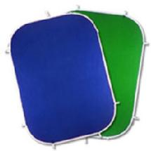 Photoflex FlexDrop2 Chromakey Blue and Green 5' x 7' Collapsible Background